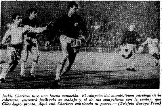 08.02.1967: Valencia CF 0 - 2 Leeds United