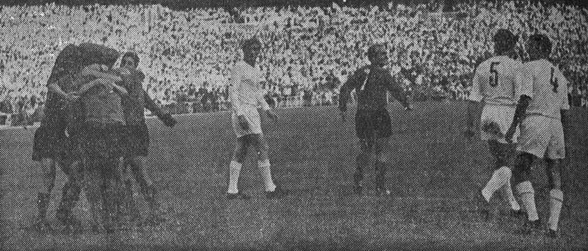 11.06.1967: Real Madrid 0 - 1 Valencia CF