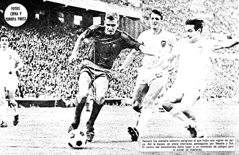 15.10.1967: Valencia CF 1 - 2 FC Barcelona