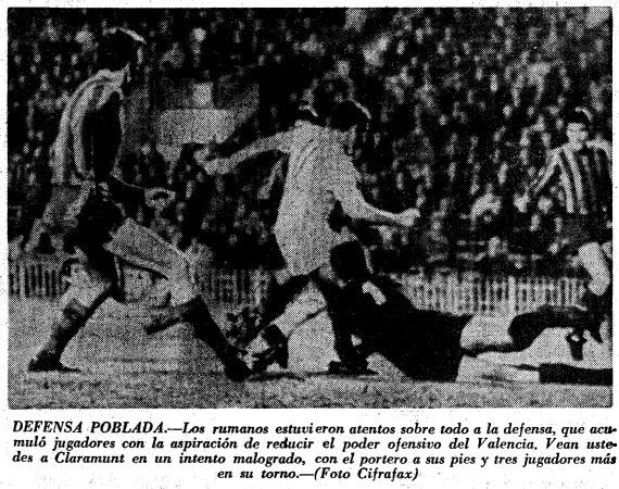 30.11.1967: Valencia CF 3 - 0 St. Bucarest