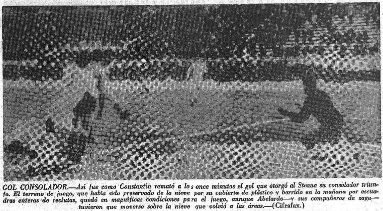 14.12.1967: St. Bucarest 1 - 0 Valencia CF