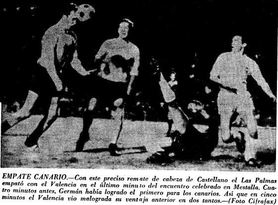 07.01.1968: Valencia CF 2 - 2 UD Las Palmas