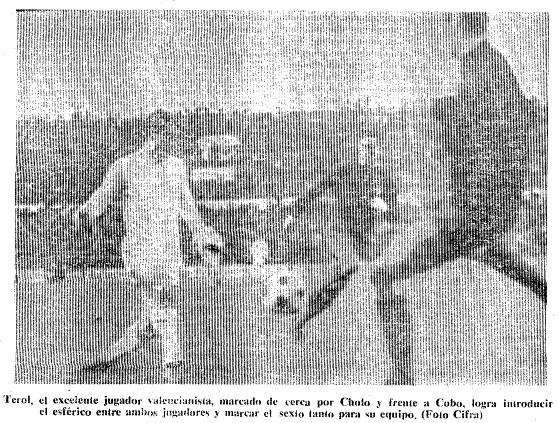 18.02.1968: Valencia CF 6 - 2 Pontevedra CF