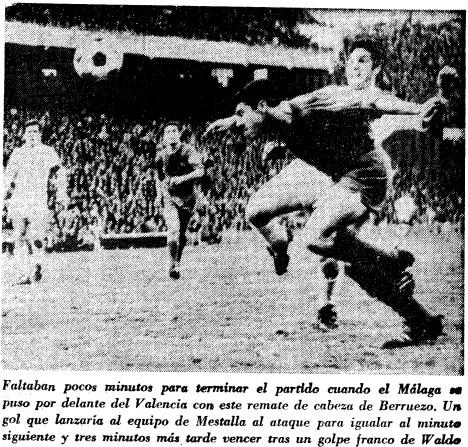 03.03.1968: Valencia CF 2 - 1 Málaga CF