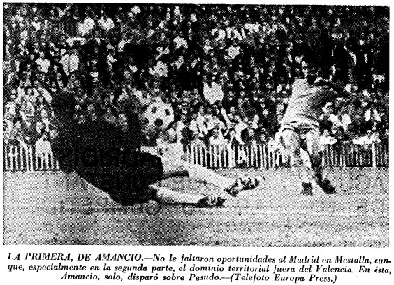 20.10.1968: Valencia CF 0 - 1 Real Madrid