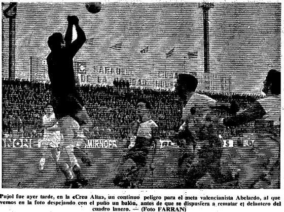 01.12.1968: CE Sabadell 2 - 1 Valencia CF
