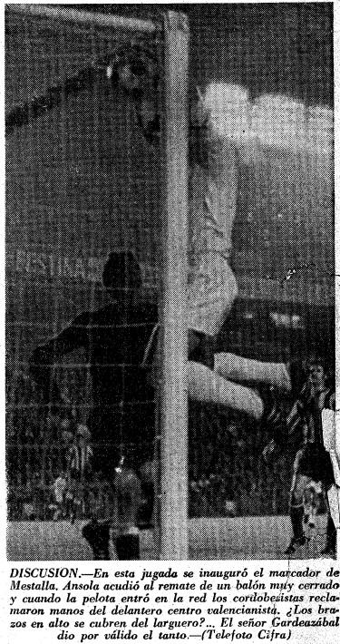 03.05.1969: Valencia CF 2 - 0 Córdoba CF