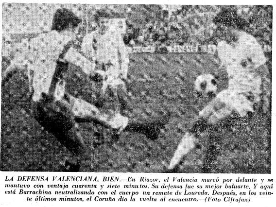 30.11.1969: Dep. Coruña 2 - 1 Valencia CF