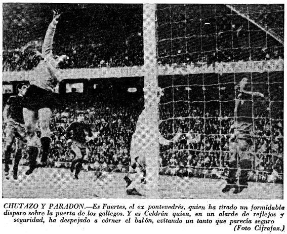 07.12.1969: Valencia CF 2 - 0 Pontevedra CF