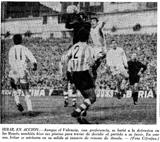 14.12.1969: Athletic Club 0 - 0 Valencia CF