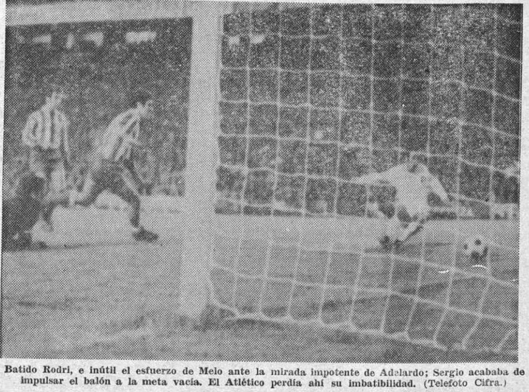 15.11.1970: Valencia CF 1 - 0 At. Madrid