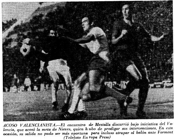 29.11.1970: Valencia CF 2 - 0 Real Zaragoza