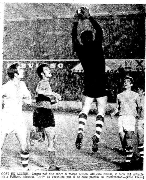 06.12.1970: Celta de Vigo 1 - 0 Valencia CF