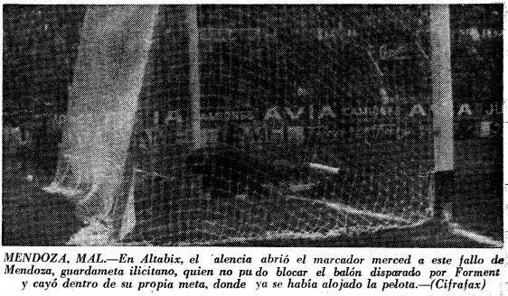 20.12.1970: Elche CF 1 - 3 Valencia CF