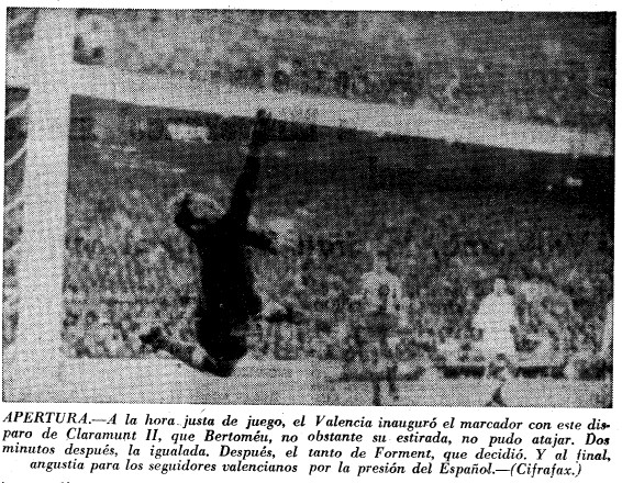 27.12.1970: Valencia CF 2 - 1 RCD Espanyol