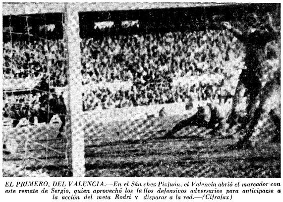 17.01.1971: Sevilla FC 2 - 2 Valencia CF