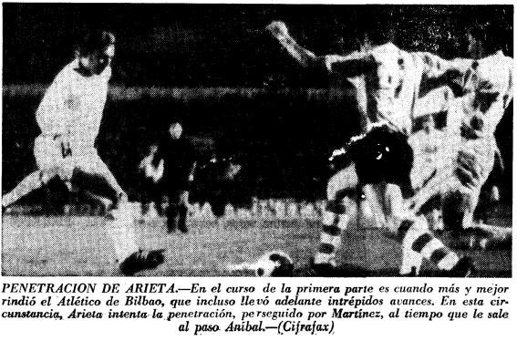14.03.1971: Valencia CF 4 - 0 Athletic Club