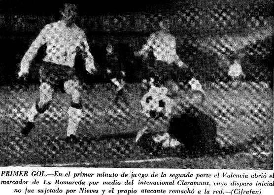 21.03.1971: Real Zaragoza 0 - 2 Valencia CF