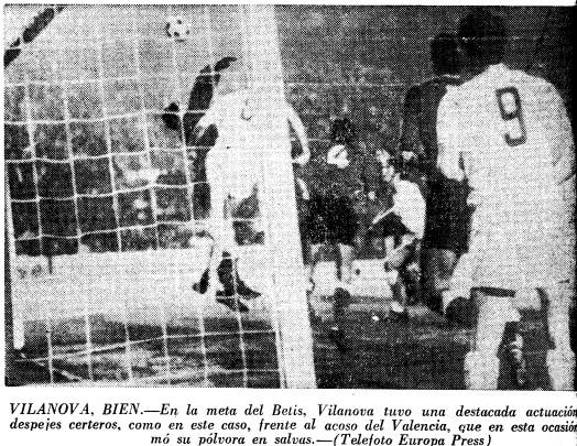 19.05.1971: Valencia CF 0 - 0 Real Betis