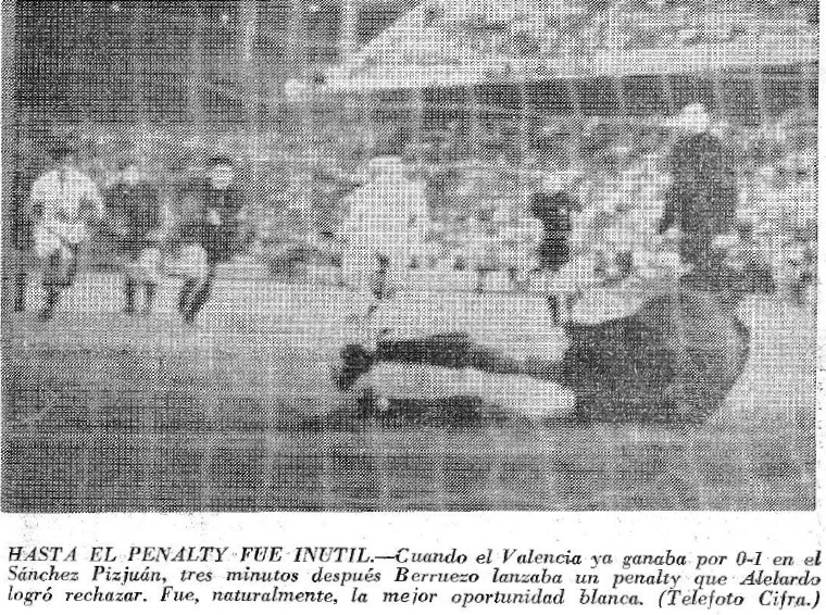 26.06.1971: Sevilla FC 0 - 2 Valencia CF
