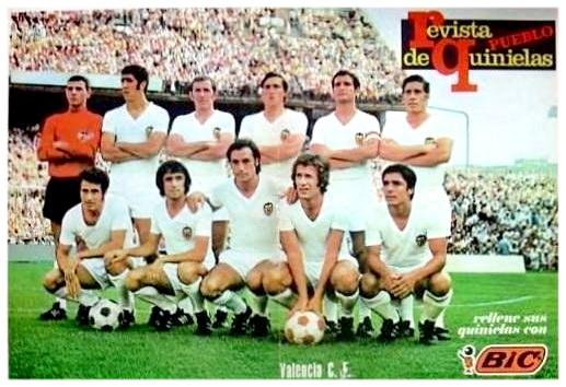 26.09.1971: At. Madrid 0 - 1 Valencia CF
