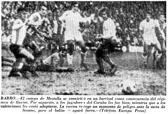 05.12.1971: Valencia CF 1 - 1 Dep. Coruña