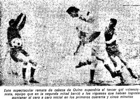 27.02.1972: Valencia CF 4 - 0 Celta de Vigo