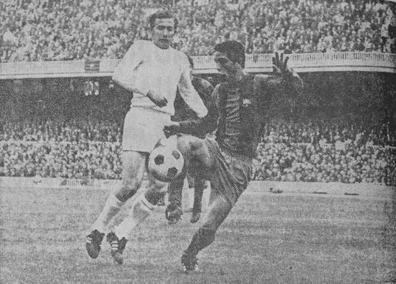 26.03.1972: FC Barcelona 1 - 1 Valencia CF