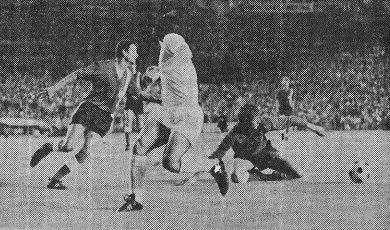 02.07.1972: Real Madrid 0 - 0 Valencia CF