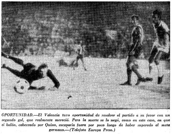 12.08.1972: Valencia CF 1 - 1 Bayern Munich