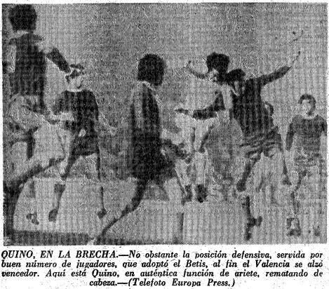 18.03.1973: Valencia CF 2 - 0 Real Betis