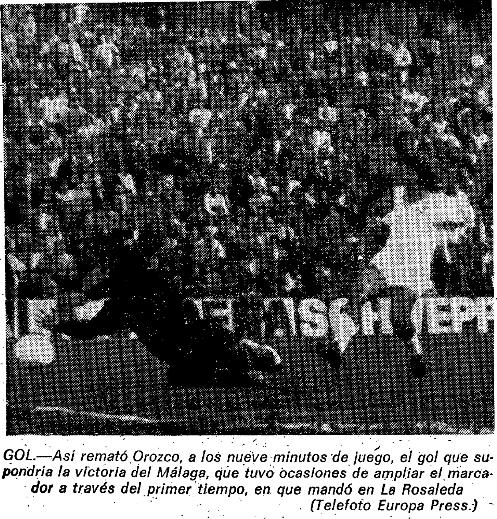 06.01.1974: Málaga CF 1 - 0 Valencia CF