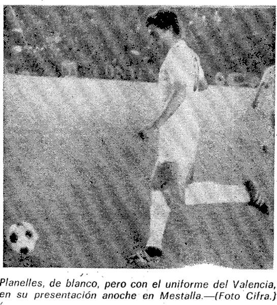 29.05.1974: Valencia CF 3 - 1 Rayo Vallecano