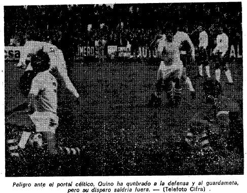 22.12.1974: Celta de Vigo 1 - 1 Valencia CF
