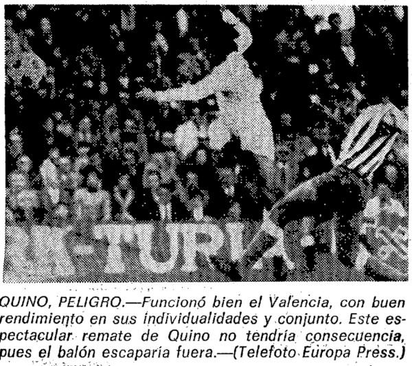 29.12.1974: Valencia CF 3 - 1 Real Betis