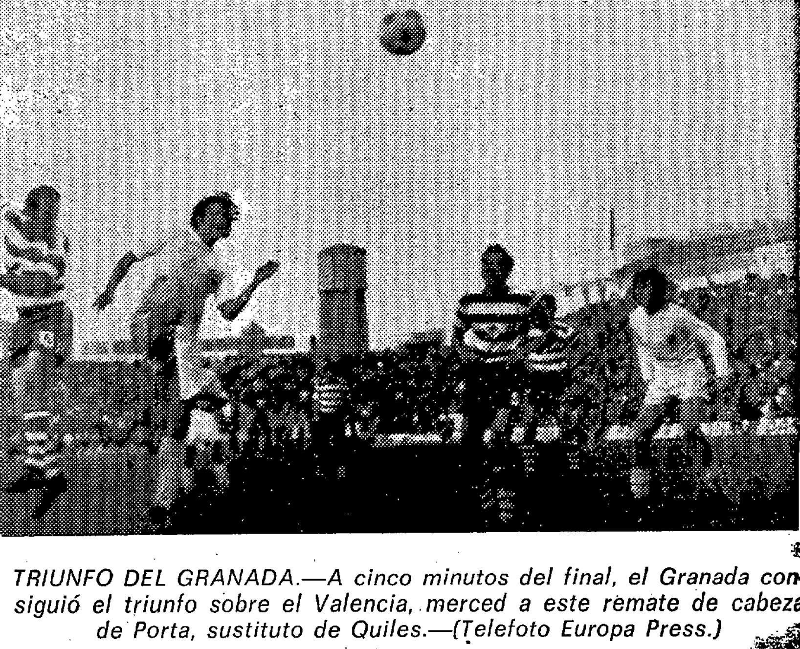 05.01.1975: Granada CF 2 - 1 Valencia CF