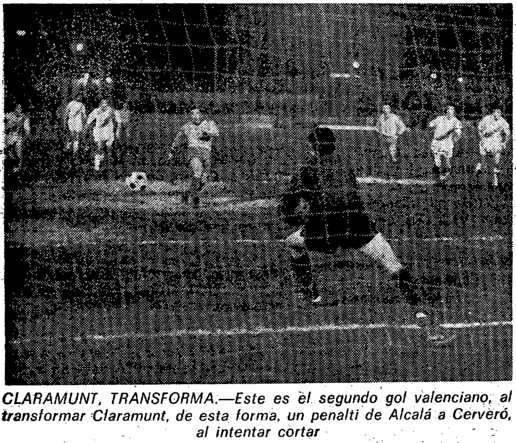12.02.1975: Rayo Vallecano 3 - 4 Valencia CF