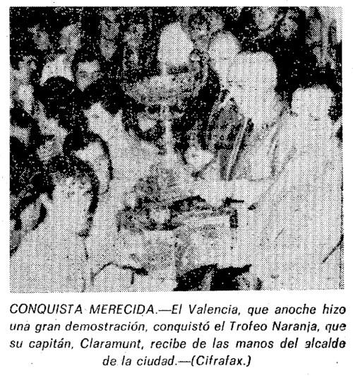 21.08.1975: Valencia CF 4 - 1 Den Haag