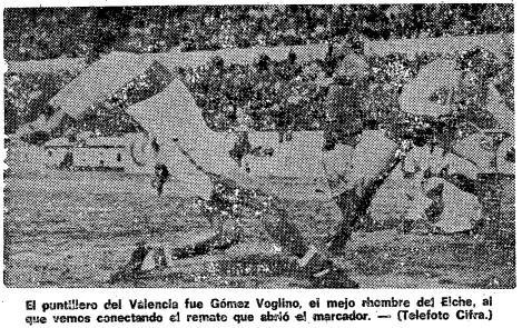 30.11.1975: Elche CF 2 - 0 Valencia CF