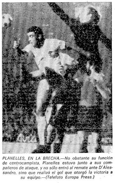 06.12.1975: Valencia CF 1 - 0 UD Salamanca