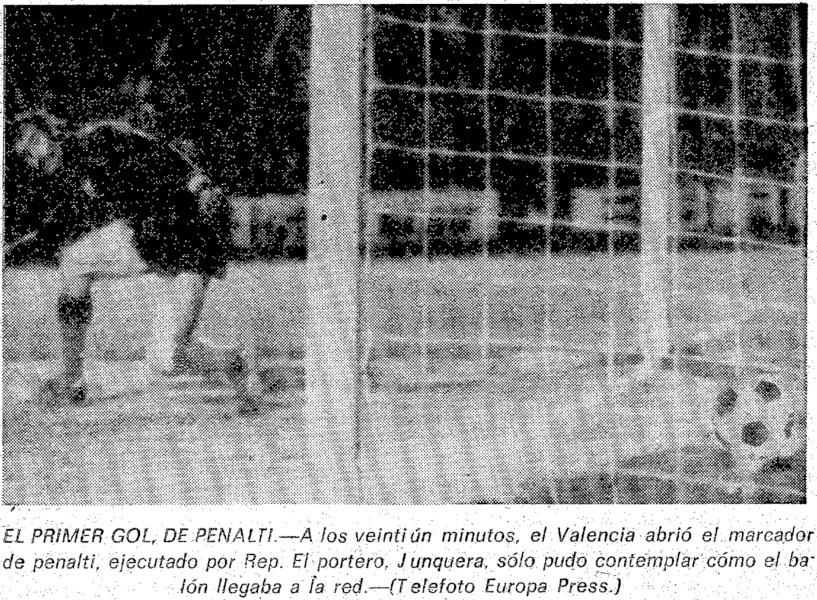 14.03.1976: Valencia CF 3 - 2 Real Zaragoza
