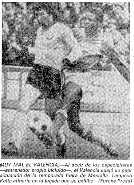 04.04.1976: UD Salamanca 2 - 0 Valencia CF