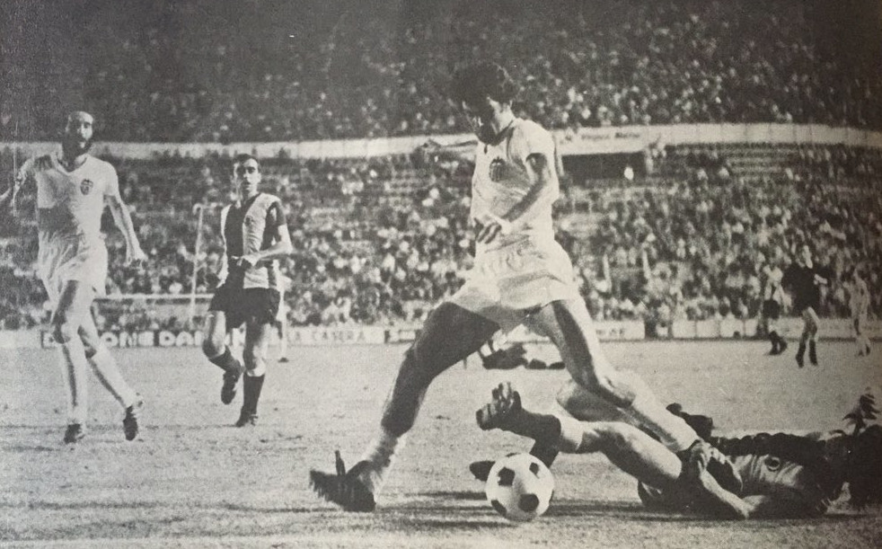 18.08.1976: Valencia CF 1 - 1 Hércules CF