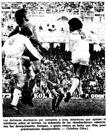 12.12.1976: Sevilla FC 0 - 0 Valencia CF