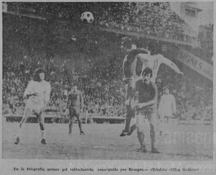 19.12.1976: Valencia CF 3 - 1 Real Burgos