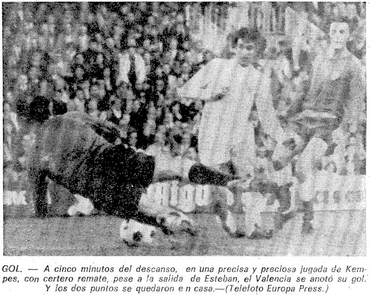 06.02.1977: Valencia CF 1 - 0 Elche CF
