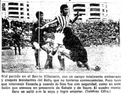 13.02.1977: Real Betis 0 - 0 Valencia CF