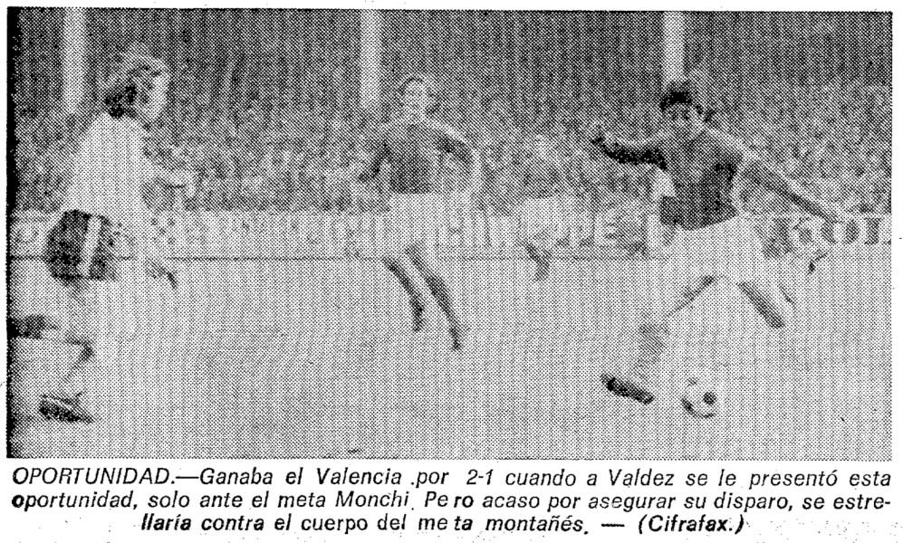 27.02.1977: Rac. Santander 2 - 2 Valencia CF