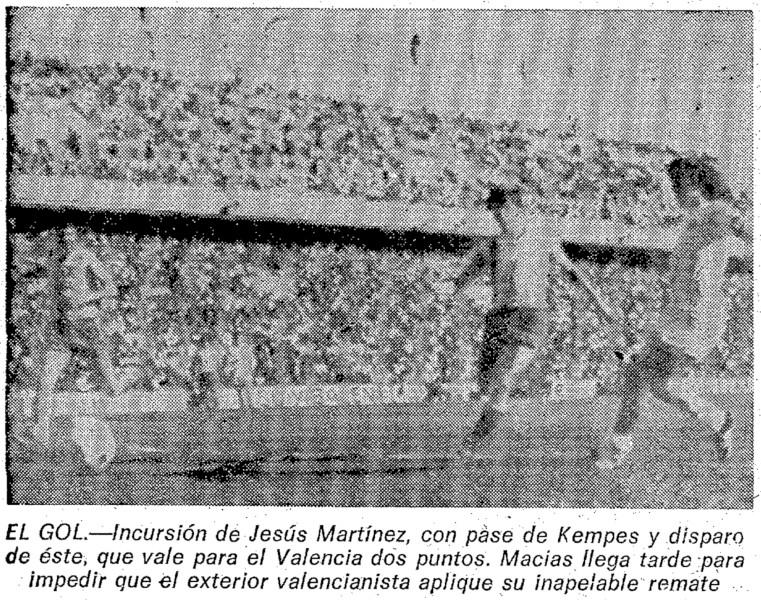 13.03.1977: Málaga CF 0 - 1 Valencia CF