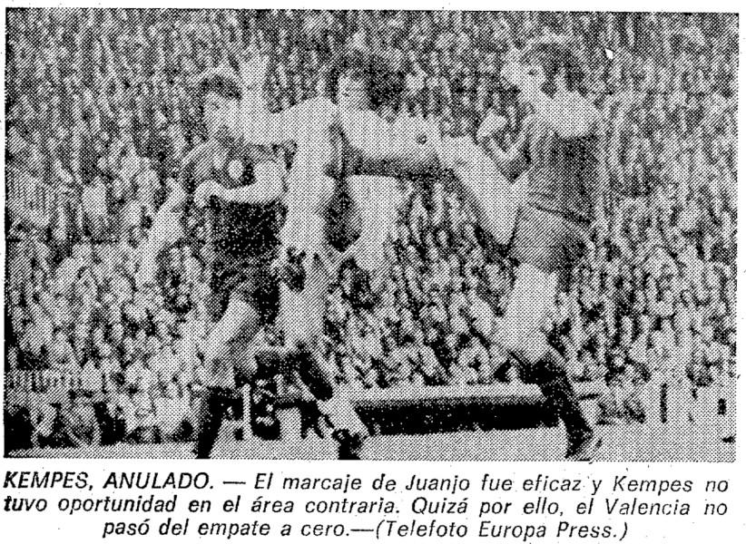 20.03.1977: Valencia CF 0 - 0 UD Salamanca